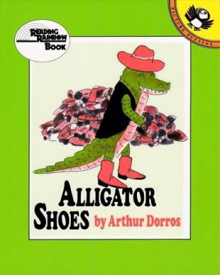 Arthurd Dorros -Alligator Shoes